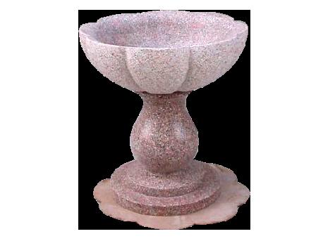 Fontana in marmo rosa di Baveno